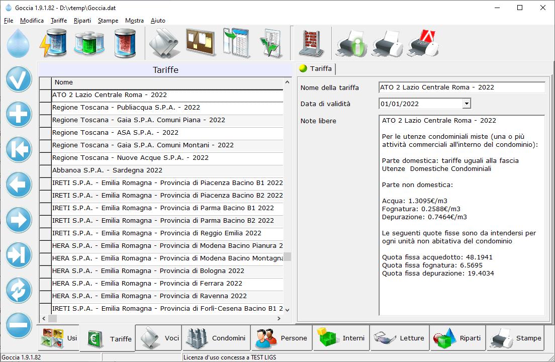 Vedi I Bollettini Postali Creati Con Il Software Goccia.